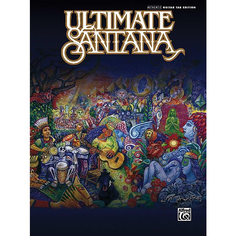 AlfredUltimate Santana Guitar Tab Book