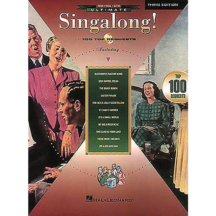 Hal LeonardUltimate Singalong! 100 Requests Piano/Vocal/Guitar Songbook