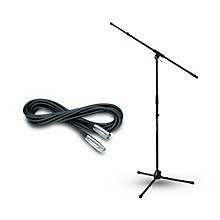 JAMSTANDS Ultimate Support JamStands Tripod Stand w/ Telescoping Boom & Musicians Gear Mic Cable