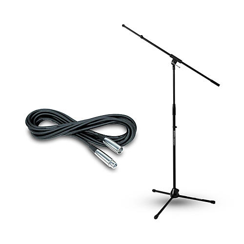 JAMSTANDS Ultimate Support JamStands Tripod Stand w/ Telescoping Boom & Musicians Gear Mic Cable-thumbnail
