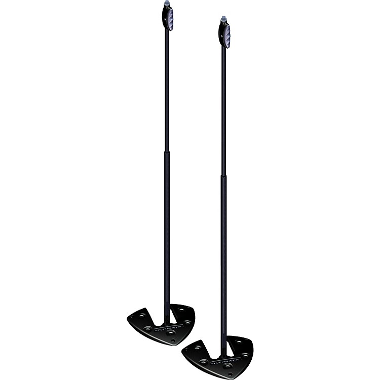 Ultimate Support Ultimate Support LIVE-SB Stackable Base Mic Stand 2-Pack with One-Hand Height Adjustment
