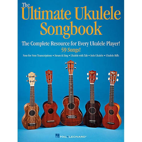Hal Leonard Ultimate Ukulele Songbook - The Complete Resource For Every Uke Player-thumbnail