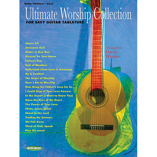 Simple Book Cover Guitar : Word music ultimate worship collection for easy guitar