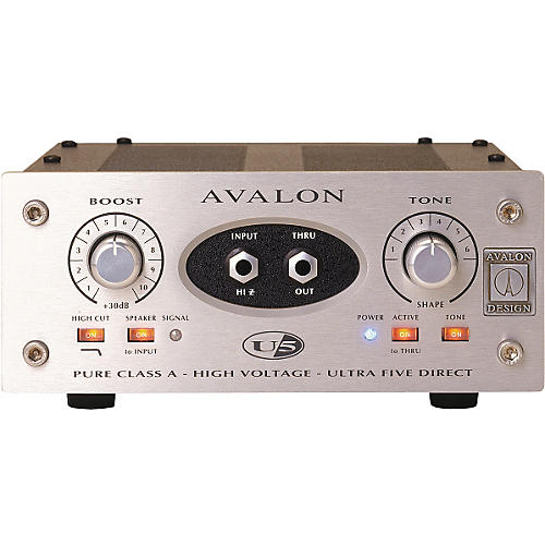Avalon Ultra Five Direct Box Instrument Preamplifier
