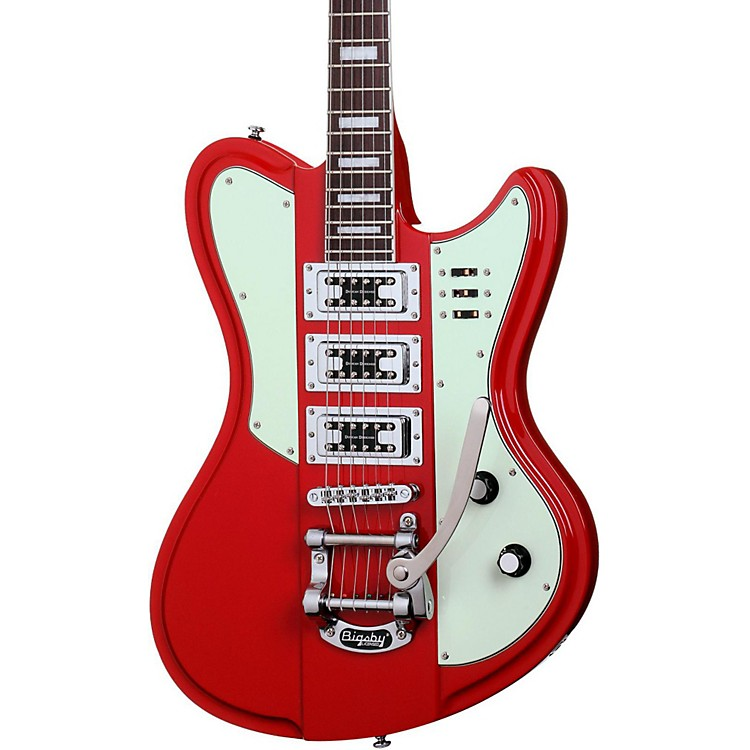 Schecter Guitar Research Ultra III Electric Guitar Vintage Red