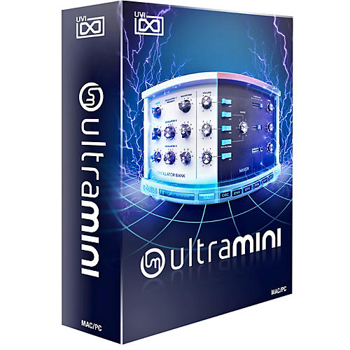 UVI UltraMini Virtual Instrument Boxed Version