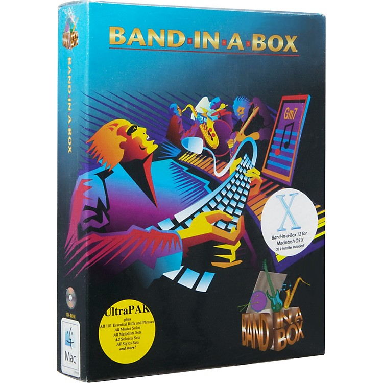 PG MusicUltraPAK Band-In-A-Box and RealBand 2009 for Windows SoftwareMac