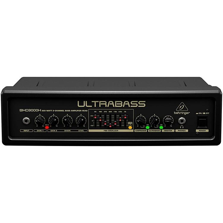 behringer ultrabass 300 watt 2 channel 7 band fbq equalizer bass amplifier head black musician. Black Bedroom Furniture Sets. Home Design Ideas