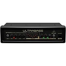 Open BoxBehringer Ultrabass 300 Watt 2-Channel 7-Band FBQ Equalizer Bass Amplifier Head