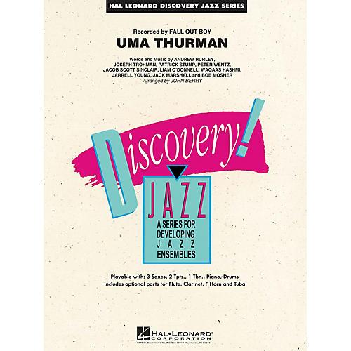 Hal Leonard Uma Thurman Jazz Band Level 1.5 by Fall Out Boy Arranged by John Berry