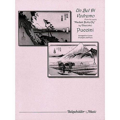 Carl Fischer Un Bel Di Vedemo Fom the Opera 'Madame Butterfly' Book