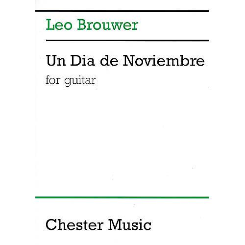 Chester Music Un Dia de Noviembre (for Guitar) Music Sales America Series-thumbnail