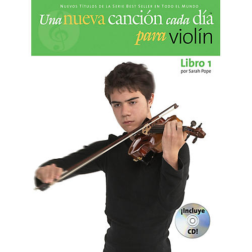 Music Sales Una Nueva Cancion Cada Dia Para Violin Music Sales America Series Softcover with CD Written by Sarah Pope-thumbnail