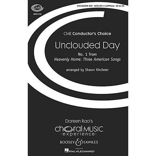 Boosey and Hawkes Unclouded Day (No. 1 from Heavenly Home: Three American Songs) SSAATTBB A Cappella by Shawn Kirchner-thumbnail