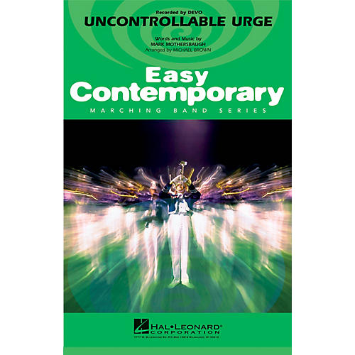Hal Leonard Uncontrollable Urge Marching Band Level 2-3 by Devo Arranged by Michael Brown-thumbnail