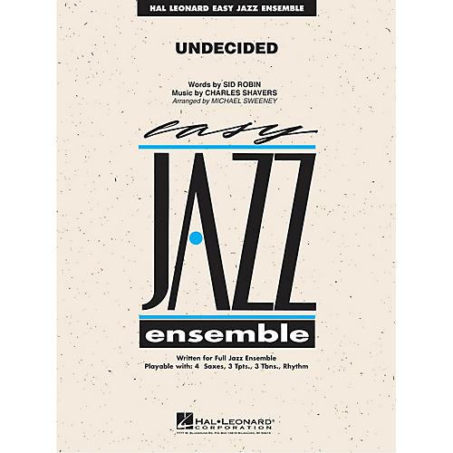 Hal Leonard Undecided Jazz Band Level 2 Arranged by Michael Sweeney-thumbnail
