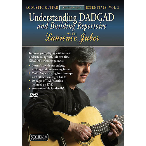 Alfred Understanding DADGAD and Building Repertoire with Lauremce Juber (DVD)