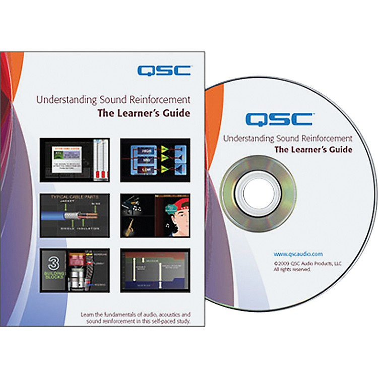 QSC Understanding Sound Reinforcement: The Learner's Guide (DVD)
