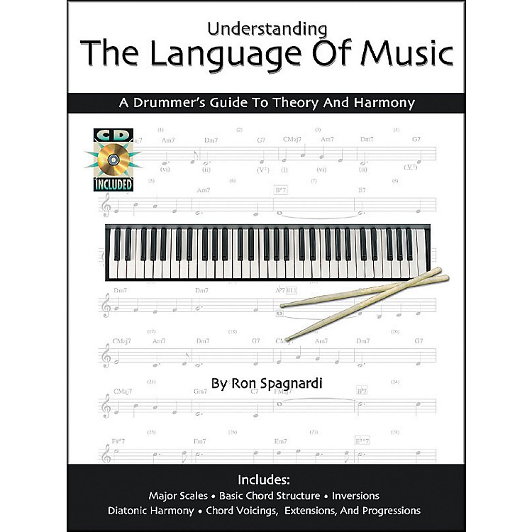 Modern DrummerUnderstanding the Language of Music: A Drummers Guide Book with CD