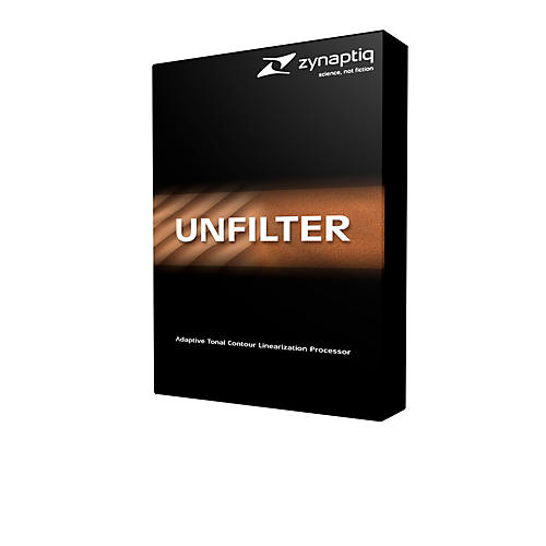 Zynaptiq Unfilter Software Download