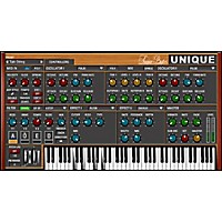 Unique Software Synthesizer