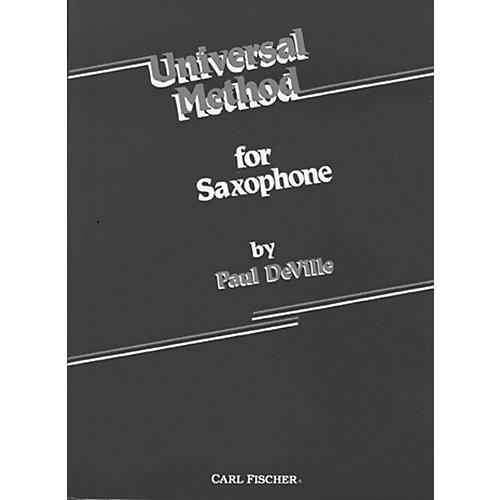Carl Fischer Universal Method For Saxophone-thumbnail