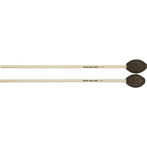 Mike Balter Universal Series Birch Handle Marimba Mallets Brown Yarn Soft - Med Soft