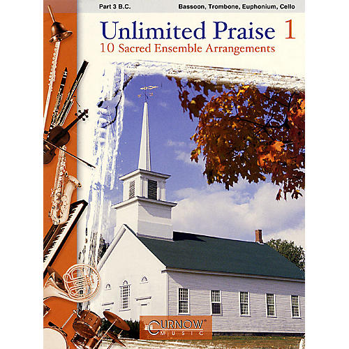 Curnow Music Unlimited Praise (Part 3 in C - Bass Clef) Concert Band Level 2-4