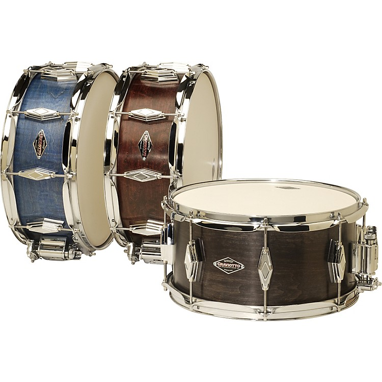 CraviottoUnlimited Snare DrumBlue6.5x13