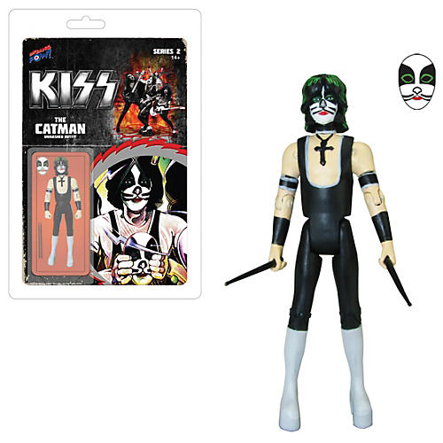 KISS Unmasked The Catman 3 3/4-Inch Action Figure Series 3-thumbnail