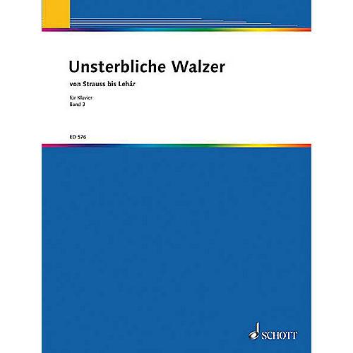 Schott Unsterbliche Walzer V. 3 Pf Part Schott Series-thumbnail