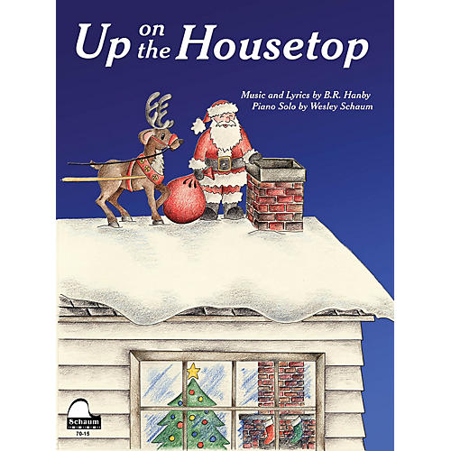 SCHAUM Up on the Housetop Educational Piano Series Softcover-thumbnail
