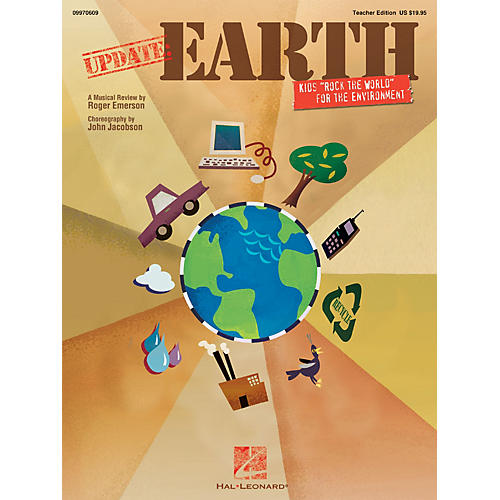 Hal Leonard Update: Earth (Kids 'Rock the World' for a Better Environment) TEACHER ED Composed by Roger Emerson-thumbnail