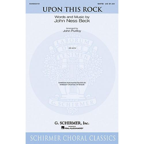 G. Schirmer Upon This Rock-thumbnail