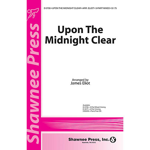 Shawnee Press Upon the Midnight Clear 2-Part Arranged by James Eliot-thumbnail