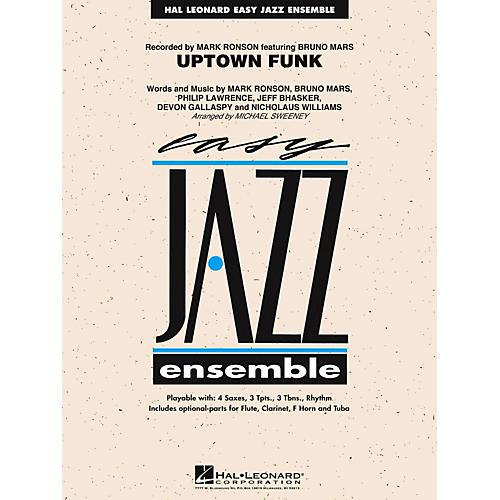 Hal Leonard Uptown Funk Jazz Band Level 2-thumbnail