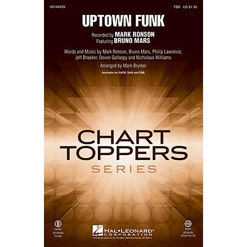 Hal Leonard Uptown Funk! TBB by Mark Ronson arranged by Mark Brymer-thumbnail