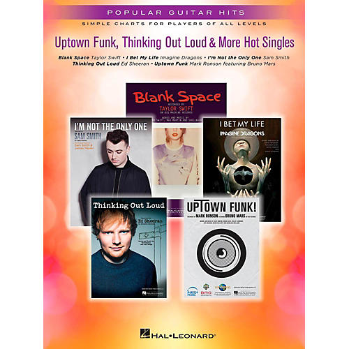 Hal Leonard Uptown Funk, Thinking Out Loud & More Hot Singles for easy piano