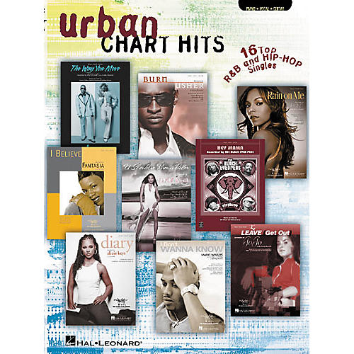 Hal Leonard Urban Chart Hits Piano/Vocal/Guitar Songbook