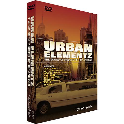 Zero G Urban Elementz Sample Library DVD