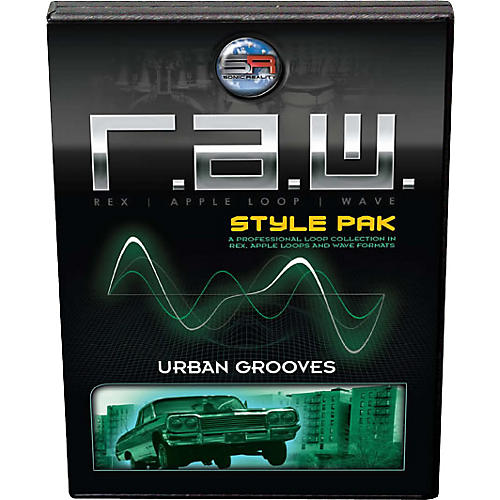 Sonic Reality Urban Grooves R.A.W. Style Pak