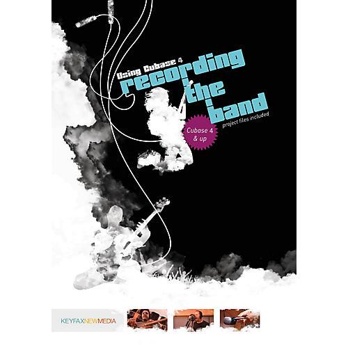 Keyfax Using Cubase for Recording the Band DVD Series DVD-thumbnail