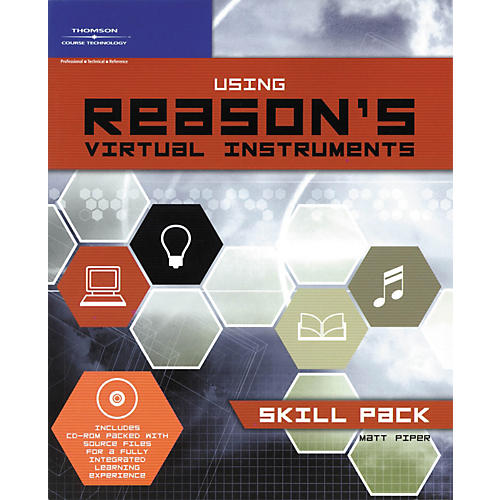 Course Technology PTR Using Reason's Virtual Instruments: Skill Pack Book/CD-ROM-thumbnail
