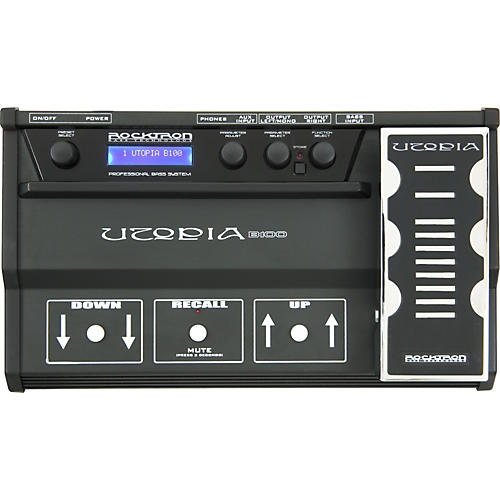 Rocktron Utopia B100 Multi-Effects Bass Pedal-thumbnail