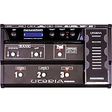 Rocktron Utopia B200 Bass Floor Multi Effects Pedal Level 1 Black