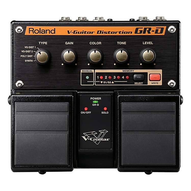 Roland V-Guitar Distortion Effects Pedal