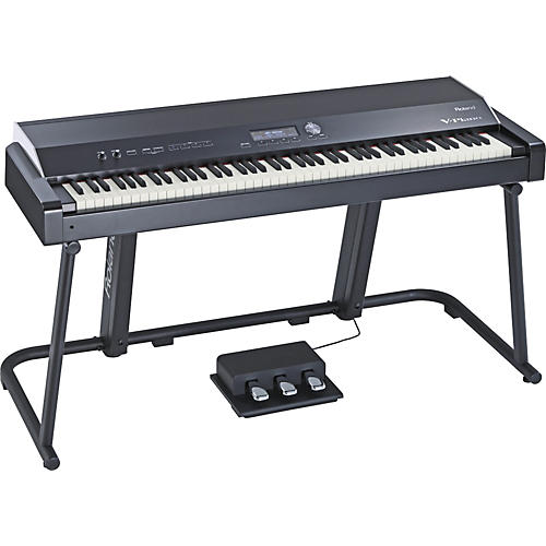 roland v piano with stand musician 39 s friend. Black Bedroom Furniture Sets. Home Design Ideas