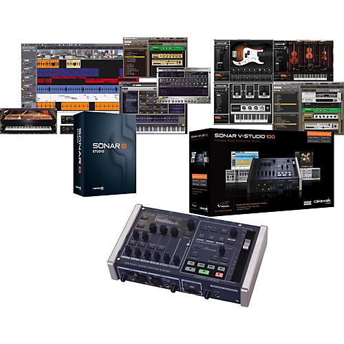 Cakewalk V-Studio 100 and Sonar 8.5 Studio Bundle