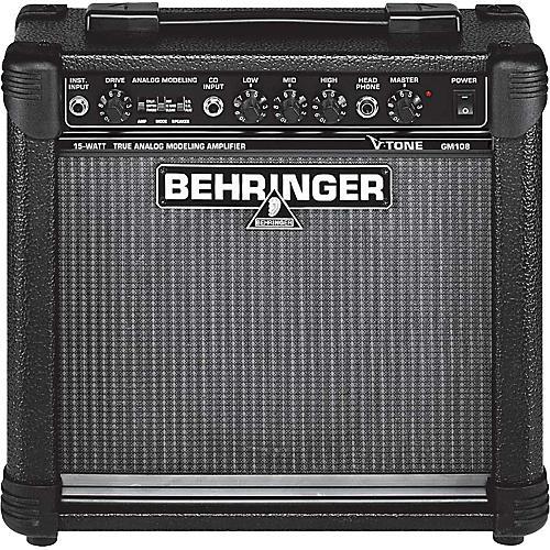 Behringer V-Tone GM108 15W Modeling Guitar Combo Amp