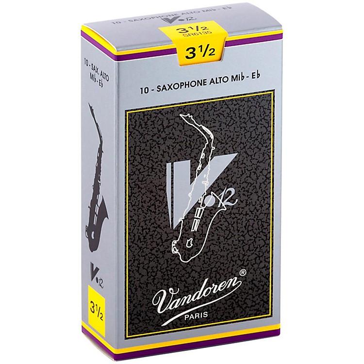 VandorenV12 Alto Saxophone ReedsStrength 2.5, Box of 10
